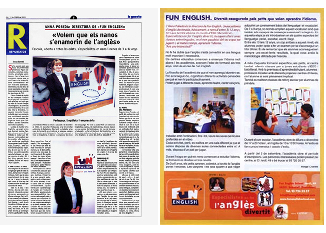 Fun English School La Gaseta